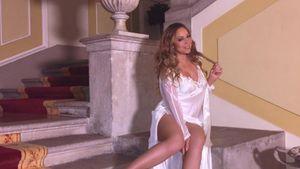Mariah Carey in der Airbnb Villa am Coma See