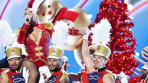 Mariah Carey und Tänzer Bryan Tanaka bei der VH1 Divas Holiday, New York