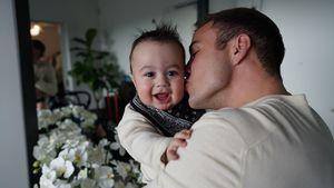 Niedliches Foto von Baby Rome: Götze-Fans schmelzen dahin