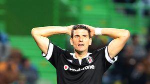 Mario Gomez beim Spiel: Sporting Lissabon gegen Besiktas Istanbul