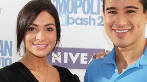 Courtney Laine Mazza und Mario Lopez