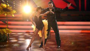 Marta Arndt und Giovanni Zarrella bei Let's Dancea