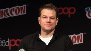 "Matt Damon bei der Vorstellung von ""The Great Wall"" auf der Comic Con 2016 in New York"