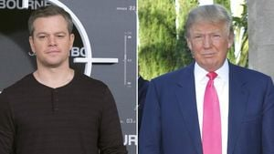Matt Damon und Donald Trump