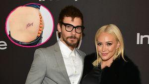 Hilary Duffs Ehemann ließ sich ihren Namen auf Po tätowieren