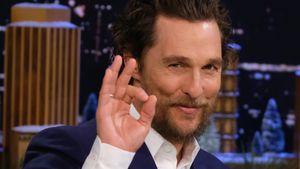 Jeden Tag Pizza: Matthew McConaughey nahm gern 22 Kilo zu