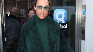 Zu viel des Guten? Matthew McConaughey komplett in Grün!