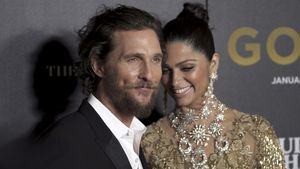 """Matthew McConaughey und Camila Alves bei der Premiere von """"Gold"""""""