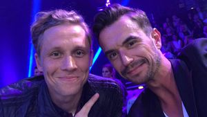 Matthias Schweighöfer und Florian Silbereisen auf der Fashionweek in Berlin