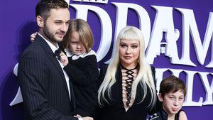 Christina Aguilera bringt ihre Familie mit auf roten Teppich