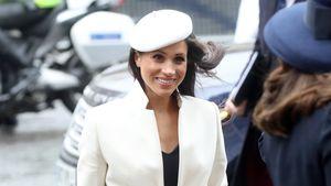Ganz in Weiß: Meghan fällt bei 1. Royal-Family-Termin auf!