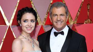 Rosalind Ross und Mel Gibson während der Oscars 2017