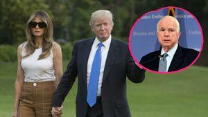 Zoff bei Trumps: Melania wollte McCains Geschenk schicken