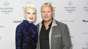 Melanie Müller mit ihrem Ehemann Mike Blümer