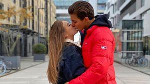 """""""Love Island""""-Tim teilt erstes Kussfoto mit seiner Melina"""