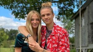 Liebesglück bei den Beckhams: Romeo (17) ist total verliebt!
