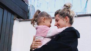 Abschied im Kindergarten: Sarah Harrison kommen die Tränen