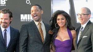 Will Smith und Nicole Scherzinger
