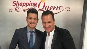 "Michael Bublé und Guido Maria Kretschmer am Set von ""Shopping Queen"""