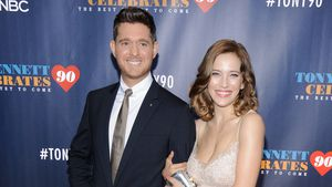 Michael Bublé und Luisana Lopilato bei einem Event in New York