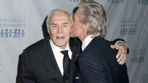 99 Jahre alt! Süße Wünsche für Michael Douglas' Papa