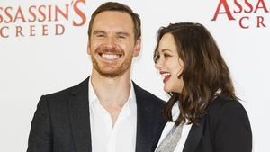 Michael Fassbender und Marion Cotillard beim Assassin's Creed Photocall in London