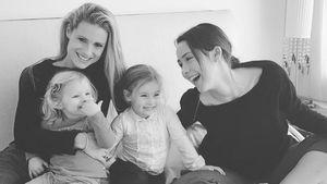 Celeste, Michelle Hunziker, Sole und Aurora Ramazotti