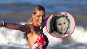 Throwback-Pic: So sah Michelle Hunziker mit neun Jahren aus