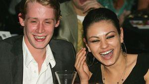 Macaulay Culkin und Mila Kunis im Jahr 2005