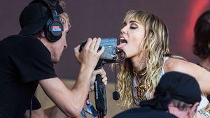So schlüpfrig war Miley Cyrus' Glastonbury-Festival-Auftritt