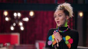 """Miley Cyrus im zweiten Teil des Finales von """"The Voice"""""""