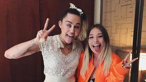 Mega-Fangirl: Bibi Claßen fing vor Miley Cyrus an zu weinen