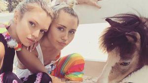 Liebe? Miley Cyrus knutscht ihren Victoria's-Secret-Engel