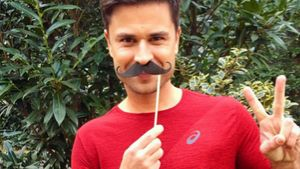 Für den guten Zweck: Milos Vukovic trägt einen Hipster-Bart