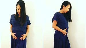 Minh-Khai Phan-Thi mit Babybauch