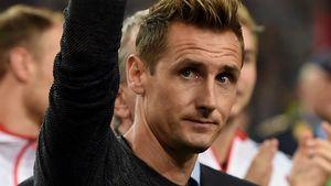 Miroslav Klose im Stadion