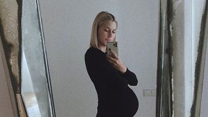 Endspurt! Hochschwangere Lena Gercke schiebt ruhige Kugel