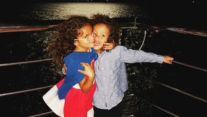 Monroe und Moroccan Cannon, Kinder von Mariah Carey