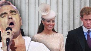 Herzogin Kate, Prinz Harry und Morrissey
