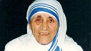 Mutter Teresa in den 90er Jahren