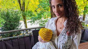 Süßes Baby-Foto: Nadine Menz zeigt Tochter fast von vorne!