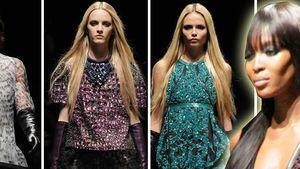 MFW: Naomi steckt die anderen Models in die Tasche