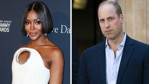 """""""Er war so süß"""": Naomi Campbell überraschte Prinz William"""