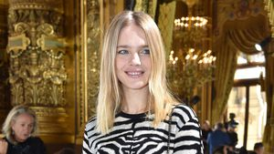 Natalia Vodianova bei der Paris Fashion Week 2016