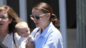 Natalie Portman und Töchterchen Amalia Millepied in Los Angeles