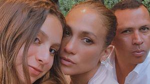 Alex Rodriguez teilt süßes Foto mit J.Lo und Tochter Natasha