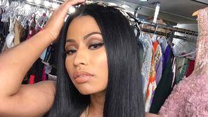 Nicki Minaj bei dem Shooting ihres Musikvideos