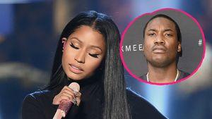 Kein Silvester-Kuss: Bei Nicki Minaj & Meek echt Schluss?