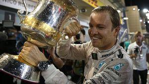 Nico Rosberg nach dem Gewinn des Weltmeistertitels in Abu Dhabi