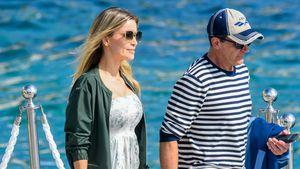 Antonio Banderas und seine Freundin Nicole turteln in Cannes
